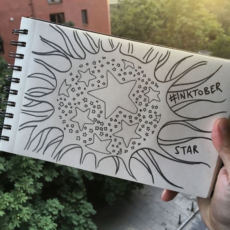 Day 8 Star easy draw falling co - antoniofse | ello