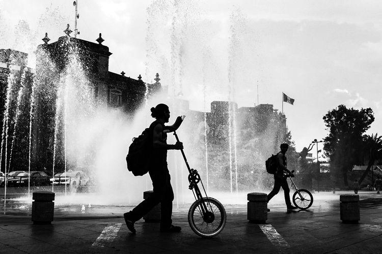 Silhouette - fineart, public, street - trovatten | ello