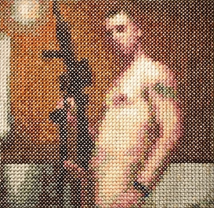 commando 3, cross stitch, 5 1/4 - aubrey | ello