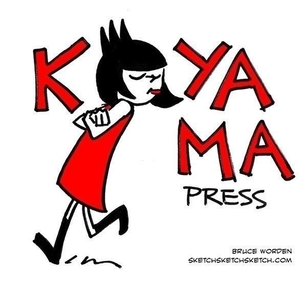 day 2: Koyama Press - inktober, tranquil - bruceworden | ello