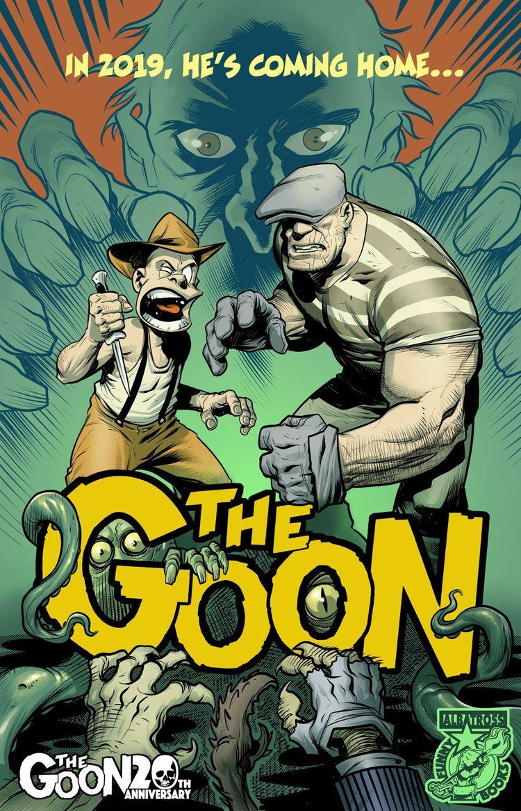 Goon Comic Books Published Eric - comicbuzz   ello