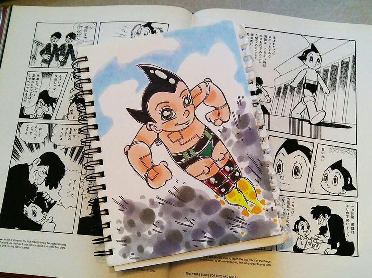 Private Commission: Astro Boy  - shedges | ello