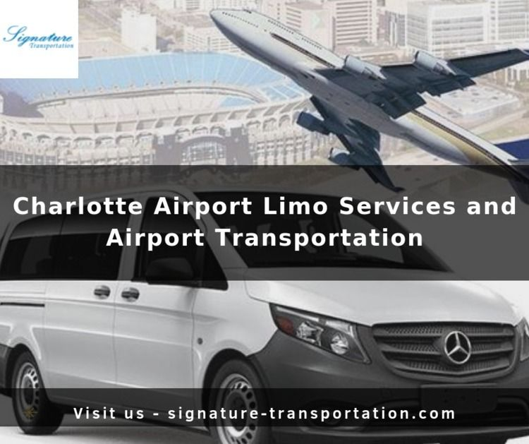 Charlotte Airport Limo Services - signaturetransportation | ello