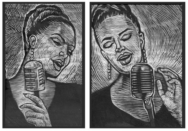 Jazz Singer Series Woodblocks - bmattcook | ello