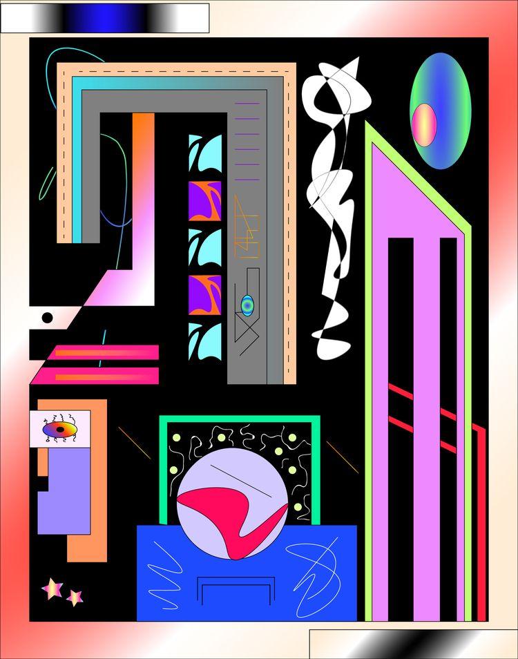 soul custody  - graphicdesign, floorplan - escapescapes | ello