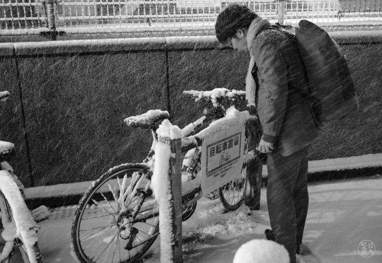 Shinjuku, Tokyo, Japan, snow - nickpitsas | ello
