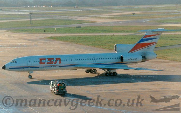 Tupolev Tu154, CSA Czechoslovak - mancavgeek   ello