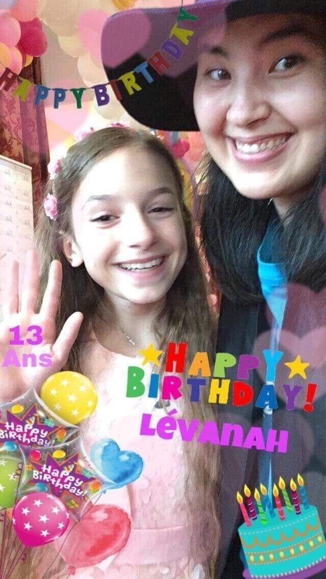 Joyeux anniversaire Lévanah - leblogdeleelee | ello