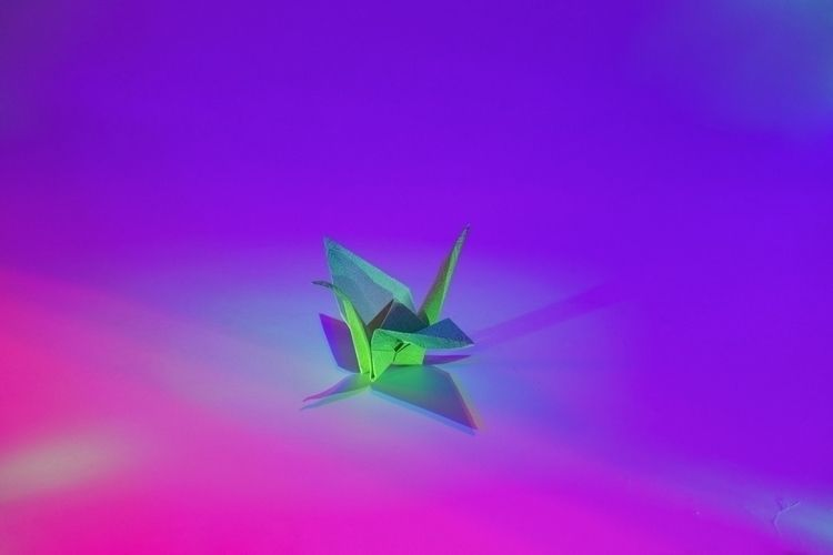 Paper Crane Icecapades, 2017 - patriciadaviesboyce | ello