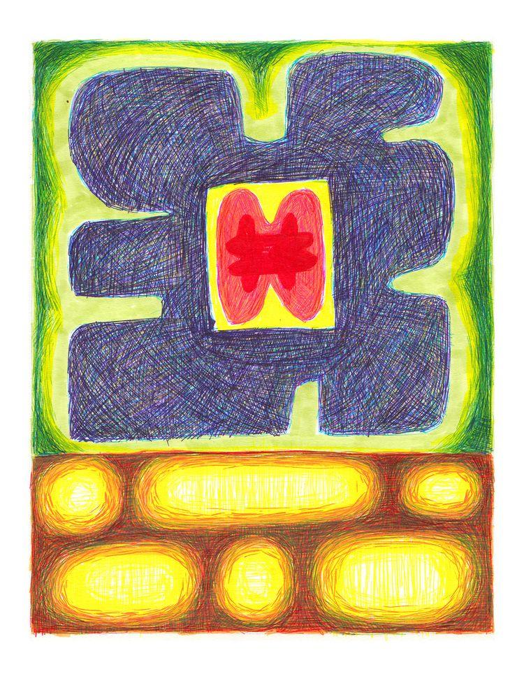 Untitled - Marker Paper - drawing - bwolf23   ello