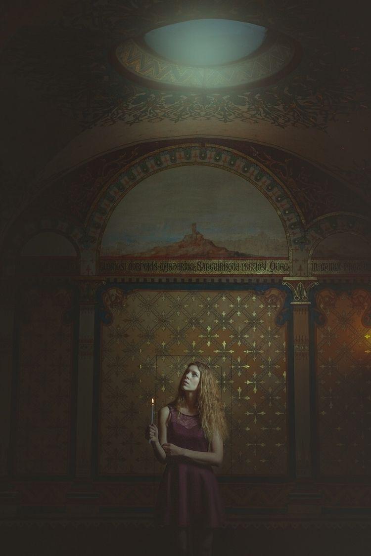 """Virgo Vestalis"" — Photographer - darkbeautymag   ello"