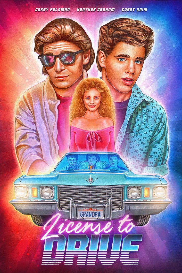 'License Drive' (1988) | ~ - nickybarkla | ello