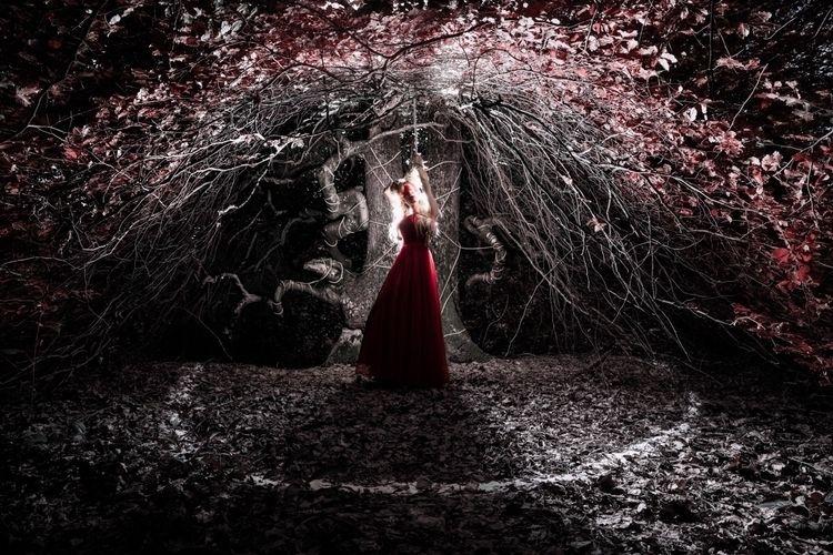 "Offering Demon"" — Photographer - darkbeautymag   ello"