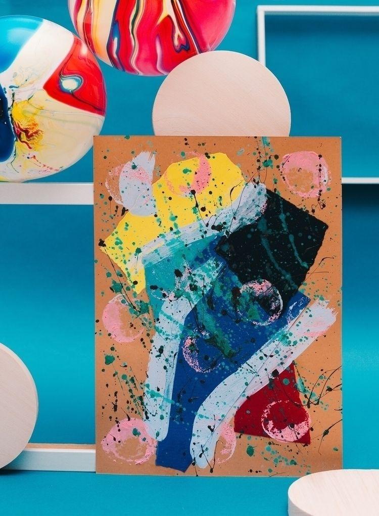 VOODOO Acrylic color paper - collage - eessoo | ello