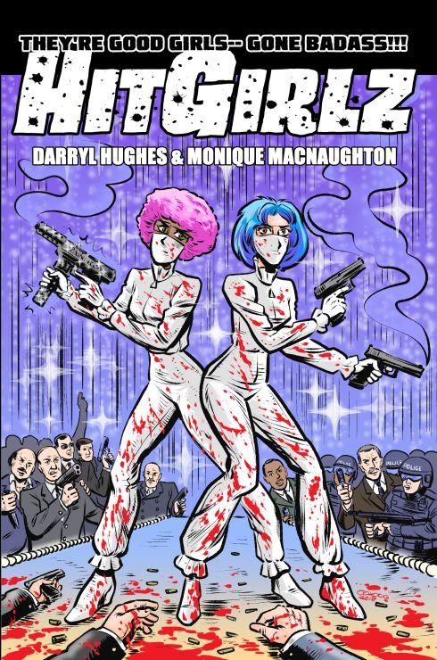 Cover art print edition HitGirl - amberchrome | ello