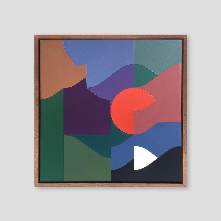 Square Composition 12 40 cm | a - samsmythart | ello