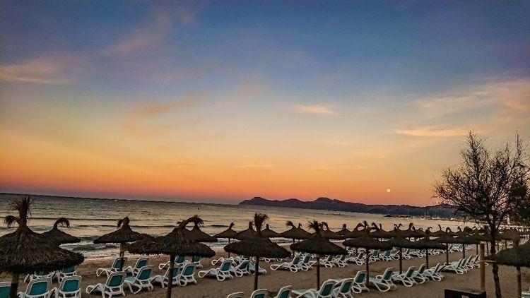sunset, tramonto, mallorca, skyporn - kwassermann | ello