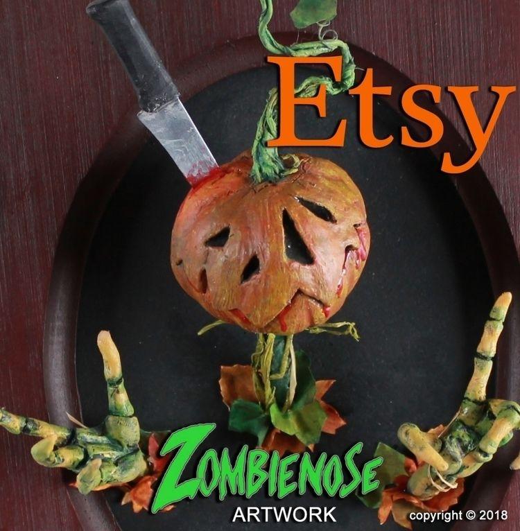sculptures left Etsy - zombienose - zombienose | ello