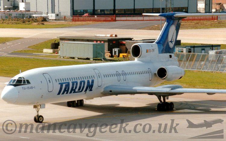 YR-TPF, Tupolev Tu154B, TAROM.  - mancavgeek | ello