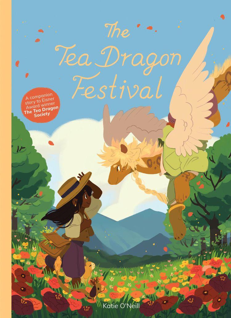 Oni Press Announces Tea Dragon  - comicbuzz   ello