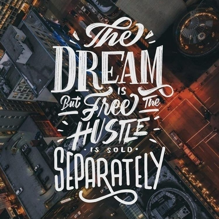 Dream Free... Hustle Sold Separ - dare2bare | ello
