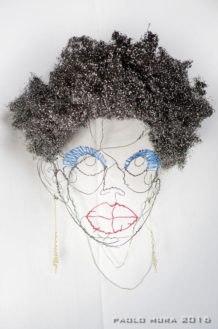 Black Magic Woman (cm. 35x33x23 - fildiferro | ello