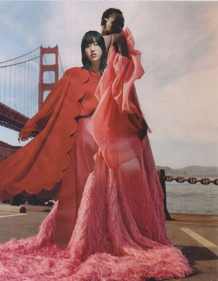 Red Pink - handmade collage 10 - deborahstevensonartist | ello