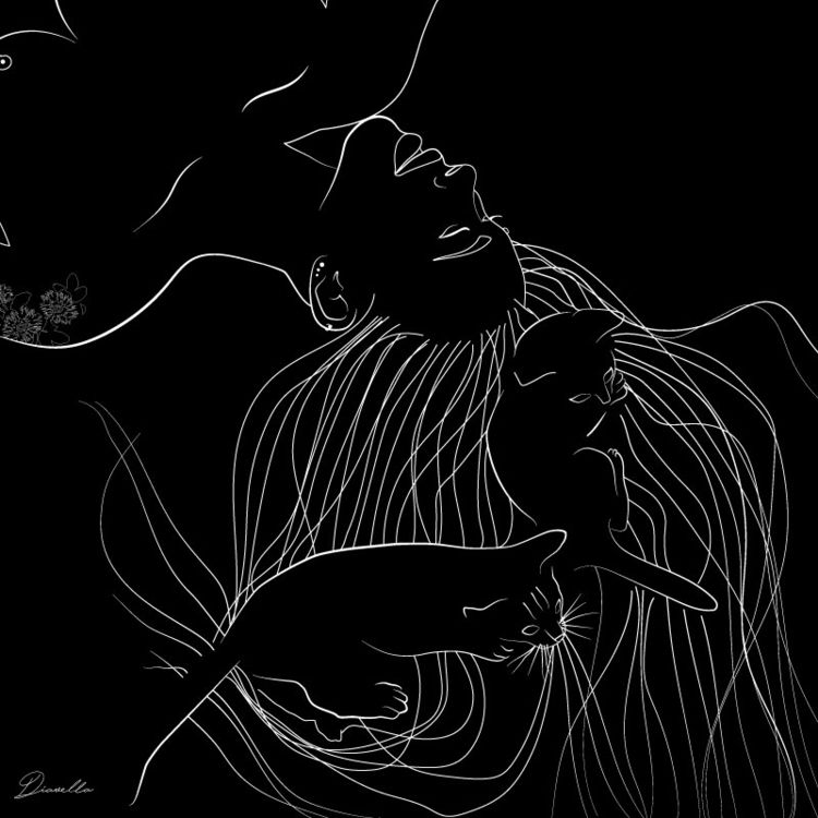 illustration, procreate, digitalart - diavella | ello