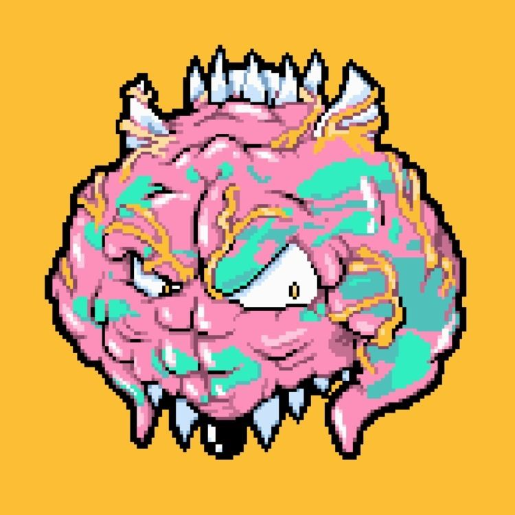 Pixel version character 'Absolu - samuelbthorne | ello