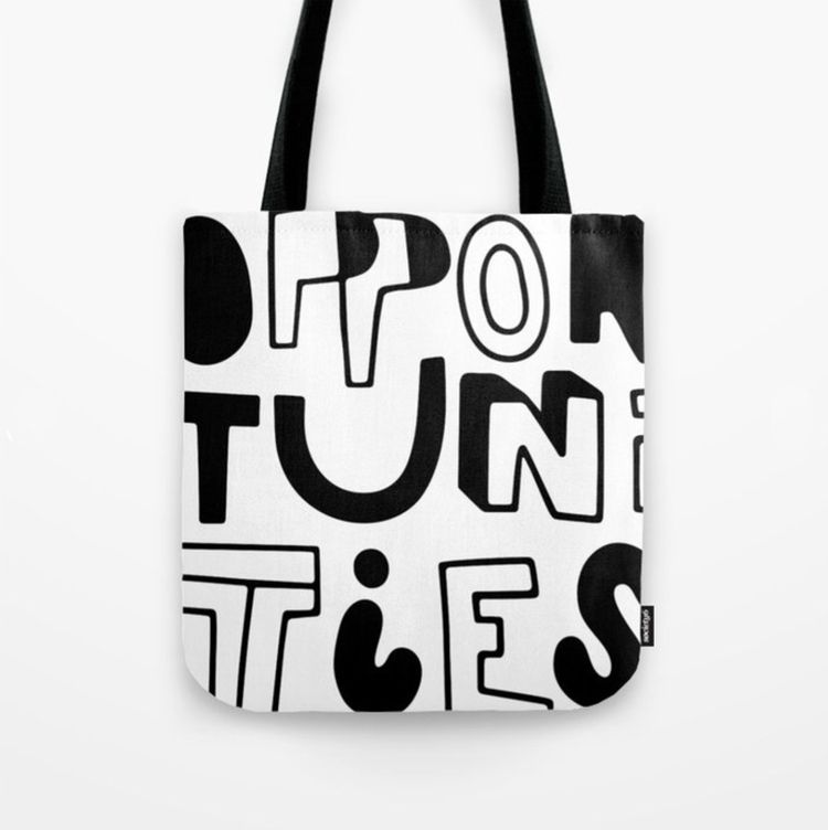 Bag Opportunities - Tote Bag! S - jamiekirk | ello
