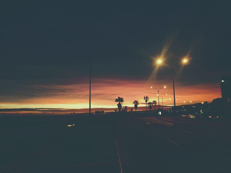 Night arrives - sunset, calm, urban - fedodes | ello