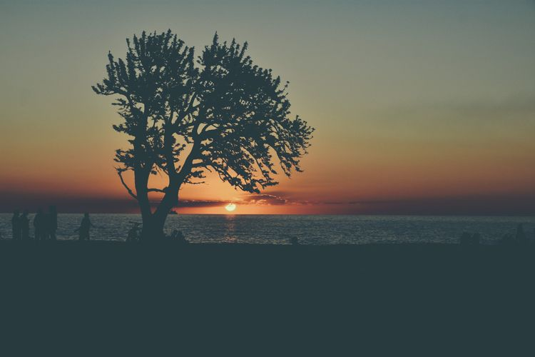 colors calm - sunset, sky, landscape - fedodes | ello