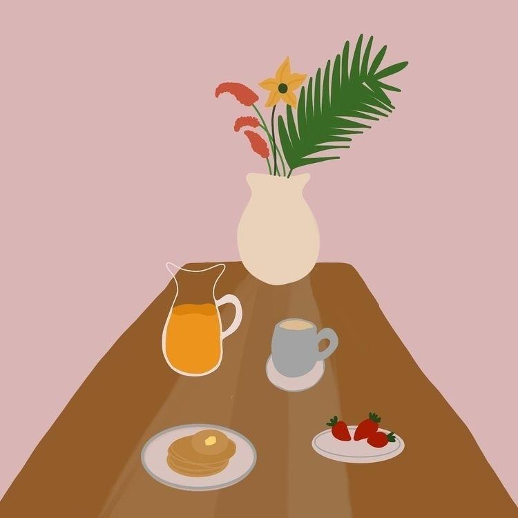 craving pancakes  - breakfast, breakfasttable - efstathia_   ello