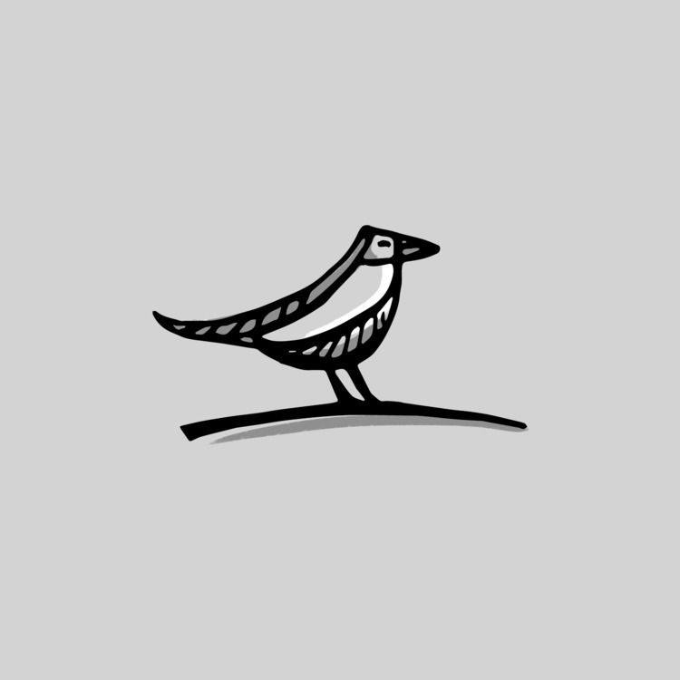 Bird - inktober, inktober2018, doodle - paperback | ello