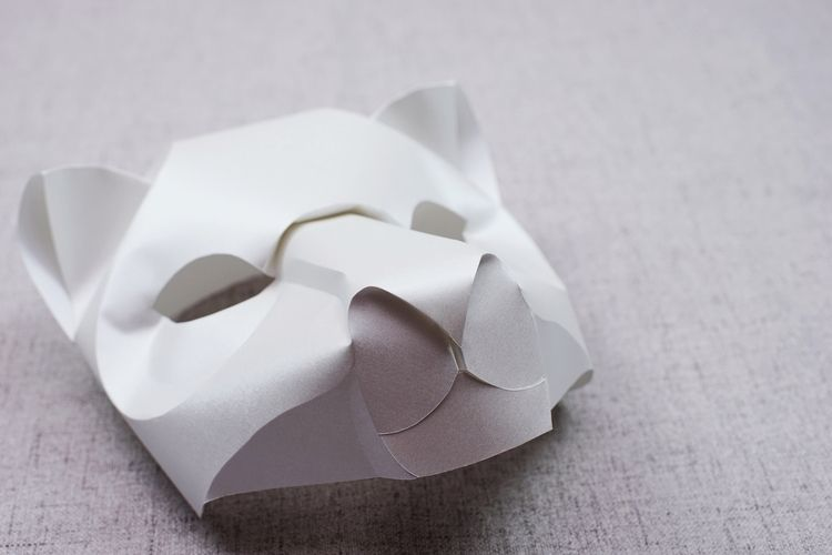 Curved Fold Origami - Leopard - paper - maggieyong | ello