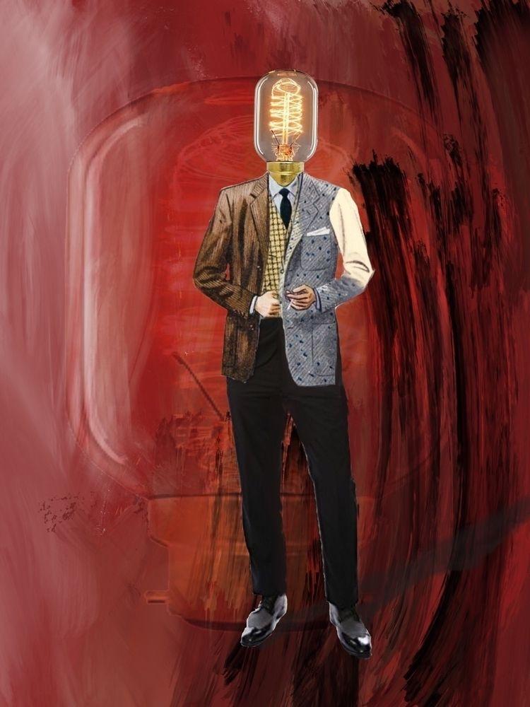 Idea Man rags - art, digitalpainting - zero_artists   ello