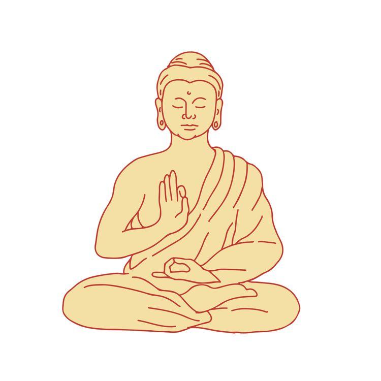 Gautama Buddha Sitting Lotus Po - patrimonio | ello