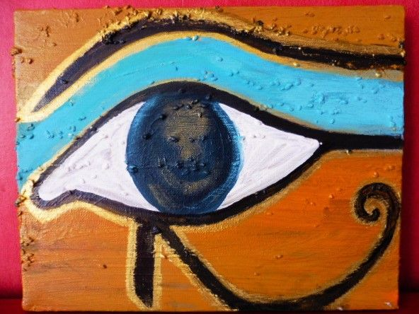 Horus eye, 2016, 26 20,5 cm, 10 - elfa1985 | ello