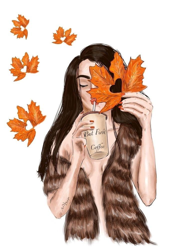 🧡:maple_leaf::maple_leaf::yello - victoriaart | ello