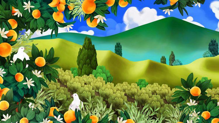 illustration, wall, decoration - jutta-kivilompolo | ello