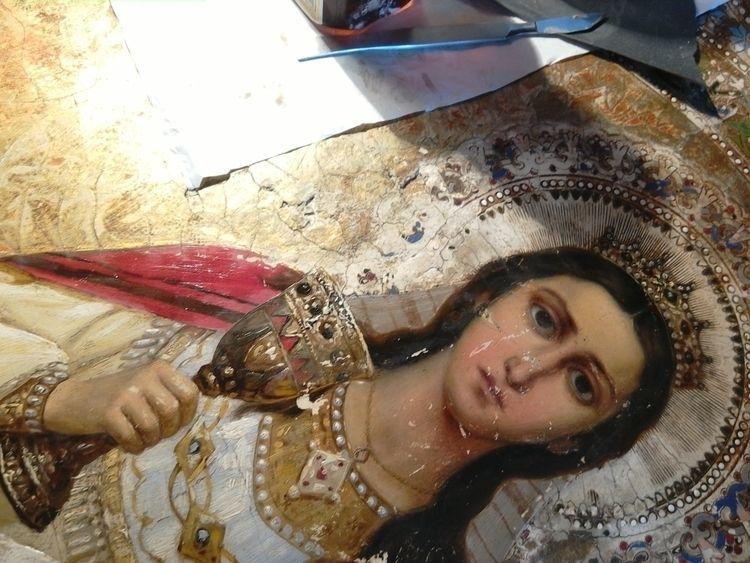 St. Warwara - art, restoration, conservation - constli | ello
