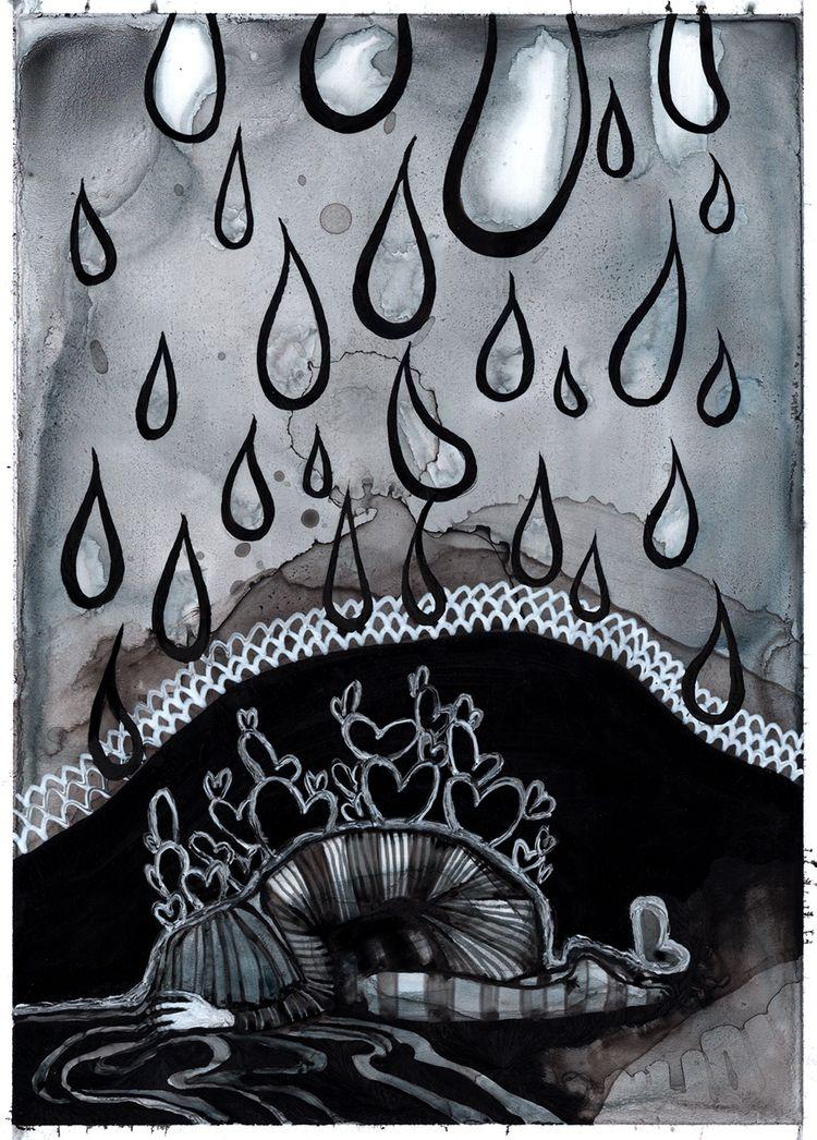 INKTOBER - inktober, illustration - lilvoodoo | ello