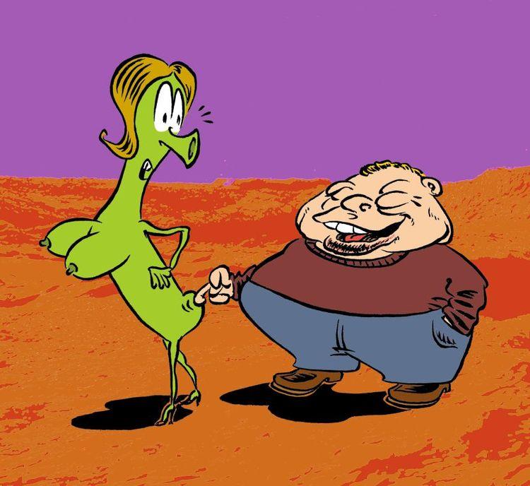Interplanetary molester - comic - enricoa | ello