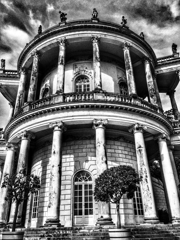 Schloss Sanssouci, Potsdam, Ger - renspacemadness | ello
