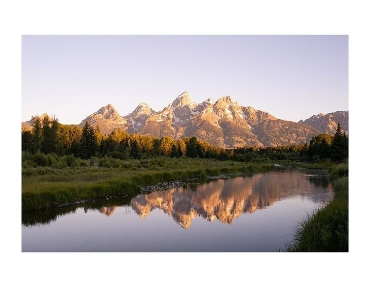 sunrise Grand Teton National Pa - aphotosmith | ello