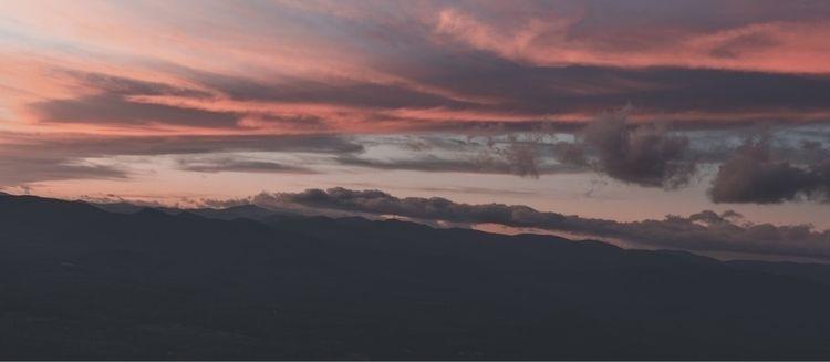 Sunset Yonah Mt - treywalker | ello