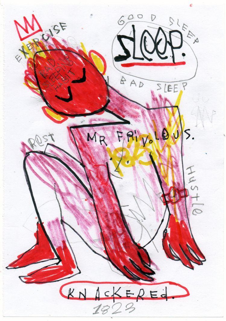 SLEEP - mrfrivolous, art, fineart - mrfrivolous | ello