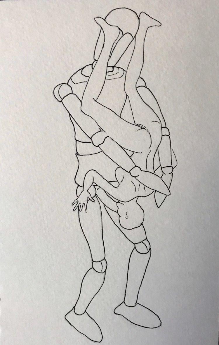 Micron ink pen - oldpaint   ello