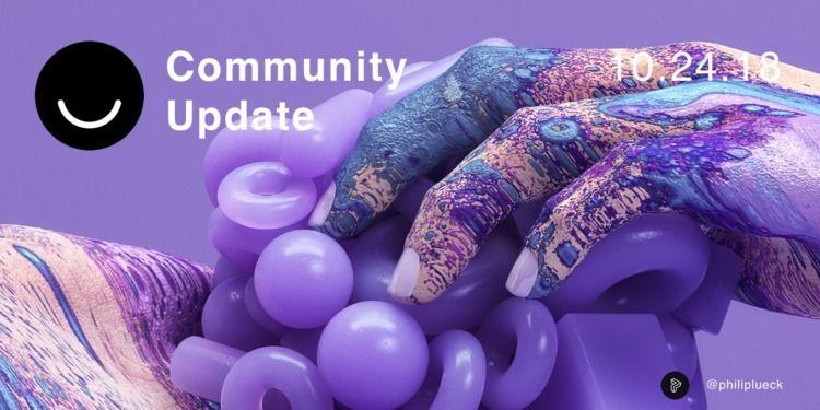 Community Update 10/24/2018 Hap - elloblog | ello