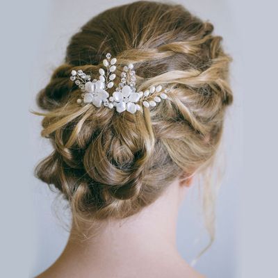 bridal fashion wedding hairpin  - cosyjewelry | ello